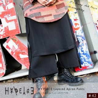 H∀PEAC∃ Layered Apron Pants