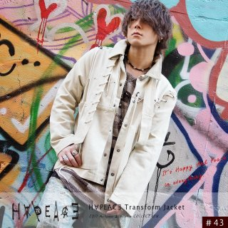 H∀PEAC∃ Transform Jacket『Beige』