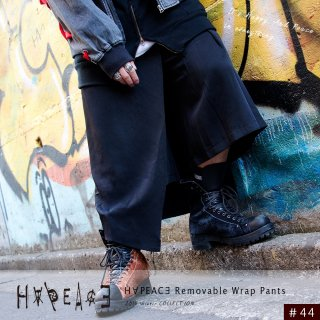 H∀PEAC∃ Removable Wrap Pants
