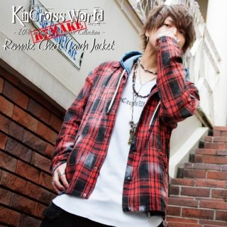 <img class='new_mark_img1' src='//img.shop-pro.jp/img/new/icons24.gif' style='border:none;display:inline;margin:0px;padding:0px;width:auto;' />【SUMMER SALE】KinCrossWorld Remake Check Coach Jacket【30%OFF】