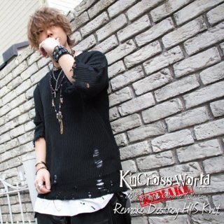 KinCrossWorld Remake Destroy H/S Knit