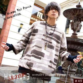 H∀PEAC∃ Jacquard Big Knit