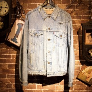 RESURRECTION Hard damage Denim Jacket