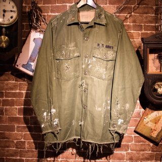 RESURRECTION Vintage damage military shirt