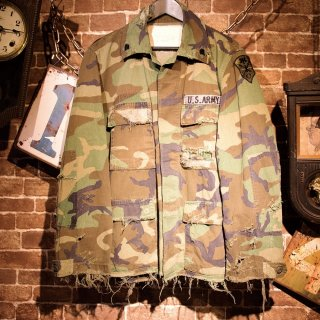 RESURRECTION Damage military jacket