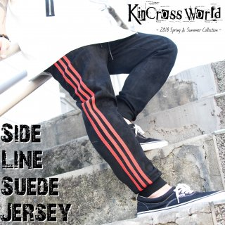 <img class='new_mark_img1' src='//img.shop-pro.jp/img/new/icons24.gif' style='border:none;display:inline;margin:0px;padding:0px;width:auto;' />【SUMMER SALE】KinCrossWorld Side Line Suede Jersey【30%OFF】