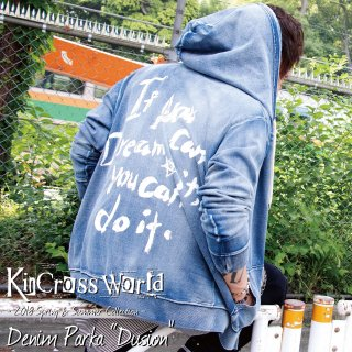 KinCrossWorld Denim Parka