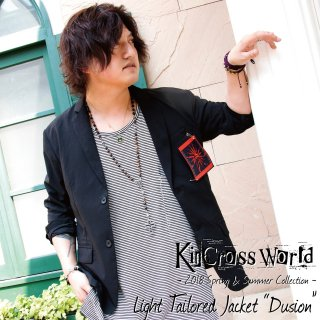 <img class='new_mark_img1' src='//img.shop-pro.jp/img/new/icons24.gif' style='border:none;display:inline;margin:0px;padding:0px;width:auto;' />【SUMMER SALE】KinCrossWorld Light Tailored Jacket