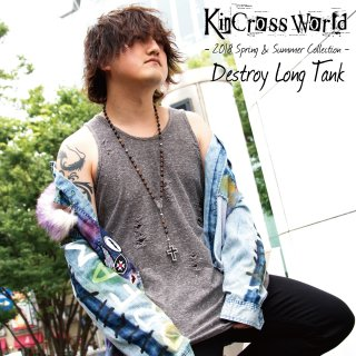 <img class='new_mark_img1' src='//img.shop-pro.jp/img/new/icons24.gif' style='border:none;display:inline;margin:0px;padding:0px;width:auto;' />【SUMMER SALE】KinCrossWorld Destroy Long Tank【10%OFF】