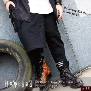 H∀PEAC∃ Rope Custom Wrap Pants