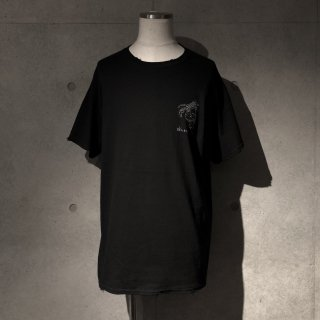 RESURRECTION Skull cafe T-shirt