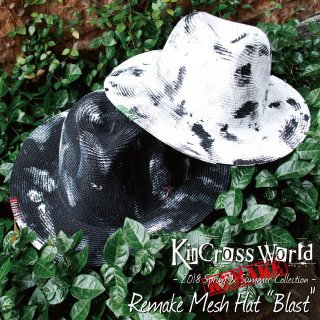 <img class='new_mark_img1' src='//img.shop-pro.jp/img/new/icons24.gif' style='border:none;display:inline;margin:0px;padding:0px;width:auto;' />【SUMMER SALE】KinCrossWorld Remake Mesh Hat