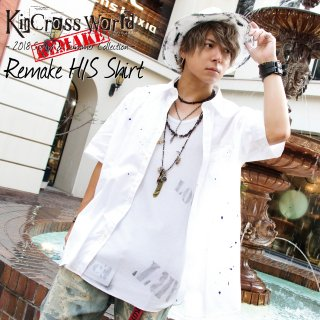 【7/23 22:00〜販売開始】KinCrossWorld Remake H/S Shirt
