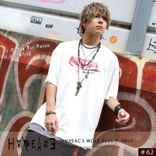 H∀PEAC∃ WOLF Eyes T-Shirt