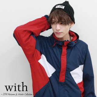 <img class='new_mark_img1' src='//img.shop-pro.jp/img/new/icons34.gif' style='border:none;display:inline;margin:0px;padding:0px;width:auto;' />【40%OFF】with Track Jacket