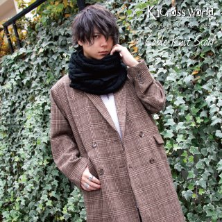 <img class='new_mark_img1' src='//img.shop-pro.jp/img/new/icons41.gif' style='border:none;display:inline;margin:0px;padding:0px;width:auto;' />【90%OFF】KinCrossWorld Cable Knit Scarf