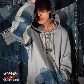 S-LIVE × KinCrossWorld Big Pull Parka