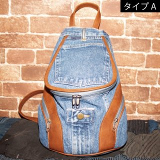<img class='new_mark_img1' src='//img.shop-pro.jp/img/new/icons20.gif' style='border:none;display:inline;margin:0px;padding:0px;width:auto;' /> KinCrossWorld Remake Denim BAG