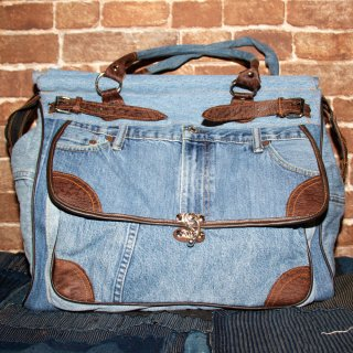 KinCrossWorld Remake Denim BAG