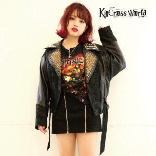 KinCrossWorld Remake Leather Jacket 【Ladies'】