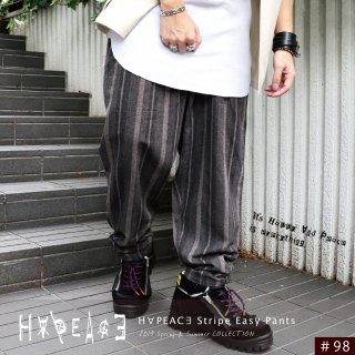 <img class='new_mark_img1' src='//img.shop-pro.jp/img/new/icons20.gif' style='border:none;display:inline;margin:0px;padding:0px;width:auto;' />H∀PEAC∃ Stripe Easy Pants