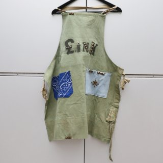 £iNK Studs Custom Military Tent Apron