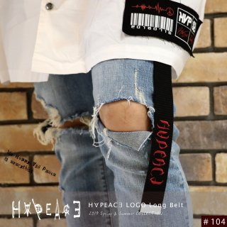 H∀PEAC∃ LOGO Long Belt