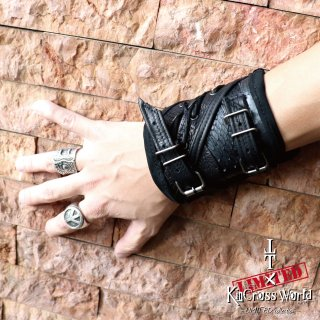 TT×KinCrossWorld Leather Custom Bracelet