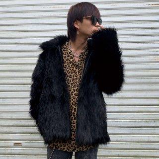 【数量限定 12/25 22:00〜販売開始】F1ND ONE Faux Fur Jacket