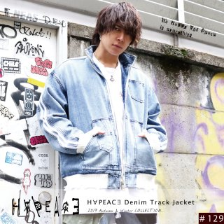 H∀PEAC∃ Denim Track Jacket