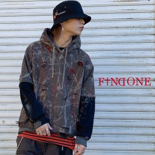 【1/1 22:00〜販売開始】F1ND ONE Remake Pull Parker