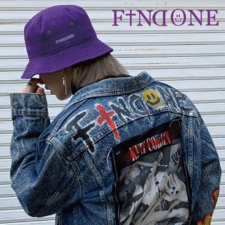 【1/18 22:00〜販売開始】New Color F1ND ONE Logo Bucket Hat