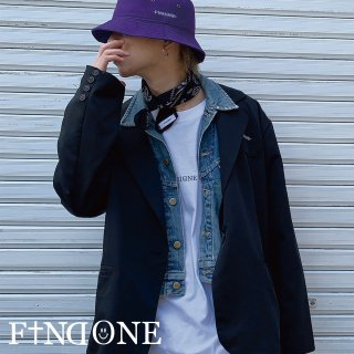 【2/6 22:00〜販売開始】F1ND ONE Big Collar Jacket