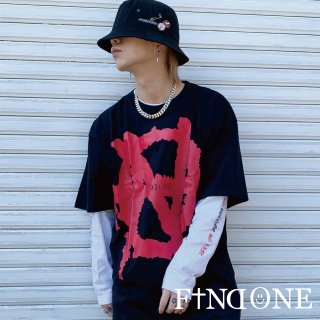 【4/8 22:00〜再販売開始】F1ND ONE Big Sign T-shirt