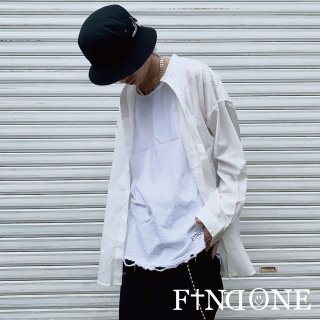 【3/21 22:00〜販売開始】F1ND ONE No Collar Top shirt
