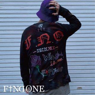 【4/8 22:00〜 販売開始】F1ND ONE Damage Logo sweat