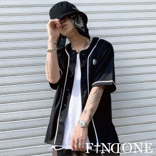【3/26 22:00〜販売開始】F1ND ONE Baseball Flat shirt