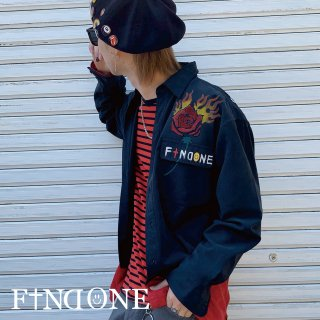 【4/15 22:00〜販売開始】F1ND ONE In the brain shirt BLK