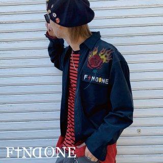 【4/15 22:00〜販売開始】F1ND ONE In the brain shirt BLK