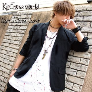 <img class='new_mark_img1' src='//img.shop-pro.jp/img/new/icons13.gif' style='border:none;display:inline;margin:0px;padding:0px;width:auto;' />【USED】KinCrossWorld Light Tailored Jacket