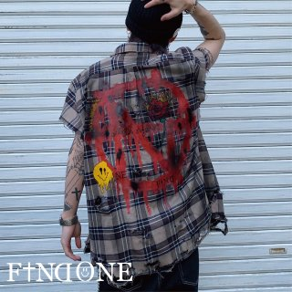 【4/30 22:00〜販売開始】F1ND ONE Remake No sleeve shirt