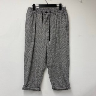 <img class='new_mark_img1' src='https://img.shop-pro.jp/img/new/icons13.gif' style='border:none;display:inline;margin:0px;padding:0px;width:auto;' />【USED】KinCrossWorld Cropped Wide Check Pants【グレー】