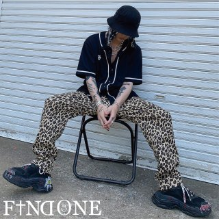 【5/7 22:00〜販売開始】F1ND ONE Leopard pants