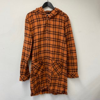 <img class='new_mark_img1' src='https://img.shop-pro.jp/img/new/icons13.gif' style='border:none;display:inline;margin:0px;padding:0px;width:auto;' />NO ID. Hoodie Long Check Shirt