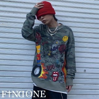 【5/12 22:00〜販売開始】F1ND ONE ART Remake Thermal sweat