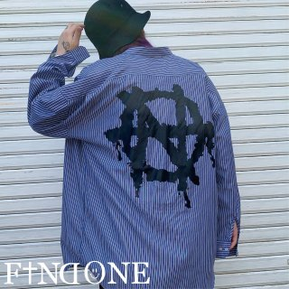【5/16 22:00〜販売開始】F1ND ONE No Collar Top icon shirt