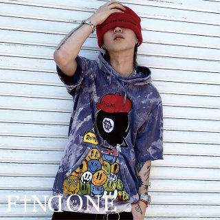 【6/16 22:00〜販売開始】F1ND ONE Remake ART Hoodie