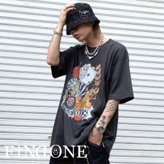 【6/27 22:00〜販売開始】F1ND ONE WORLD OF WORLD T-shirt