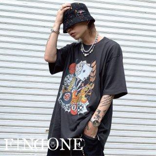 【6/27 22:00〜販売開始】F1ND ONE WORLD OF WORLD T-shirt