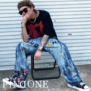 【7/2 22:00〜販売開始】F1ND ONE Painter Pants